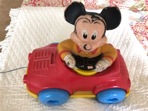 Mickey Mouse Pull Toy for Sale in Marshall, VA