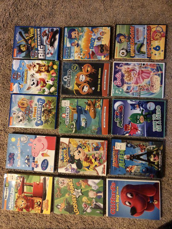 Kids DVD Movies/ Shows- QTY:20
