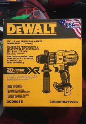 Dewalt brushless hammerdrill for Sale in Fresno, CA