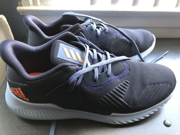 Adidas men's athletic running shoes (size 8.5) worn once