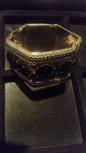 Silver and Black Clasp Bracelet $8 for Sale in Philadelphia, PA