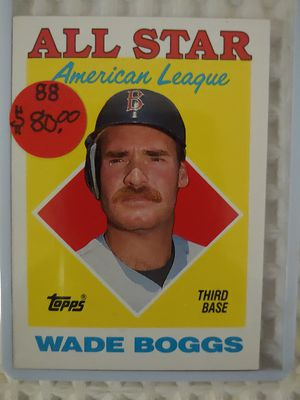 Wade Boggs All Stars Baseball Card for Sale in Seattle, WA