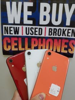 IPHONE XR UNLOCKED FOR ALL CARRIERS INTERNATIONAL for Sale in Garland,  TX