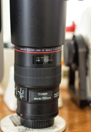 Canon 100mm lense and cannon 77d for Sale in Richmond, CA