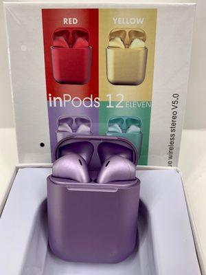 Purple i12 Mini EarPods for Sale in Norco, CA