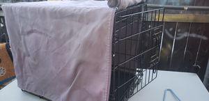 Medium size dog crate w/ cover for Sale in Escondido, CA