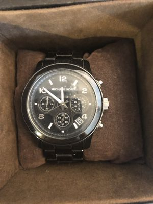 Michael Kors Ladies Black Ceramic Watch for Sale in Parker, CO
