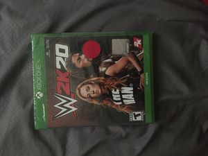 Xbox One WWE2k20 for Sale in Florissant, MO