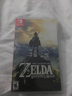 Legend of Zelda breath of the wild Nintendo switch for Sale in San Marcos, CA
