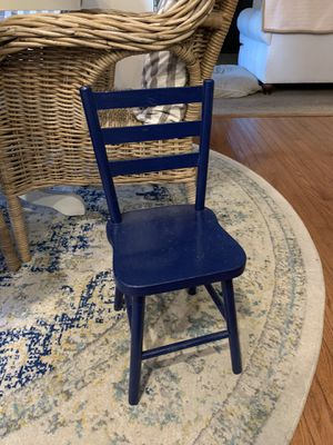 Blue Kids Chair for Sale in Richmond, VA