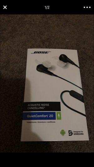 Bose® QuietComfort® 20 Acoustic Noise Cancelling® Headphones for Sale in Denver, CO