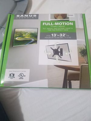 Sanus Vuepoint Full-Motion TV wall Mount for Sale in Citrus Heights, CA
