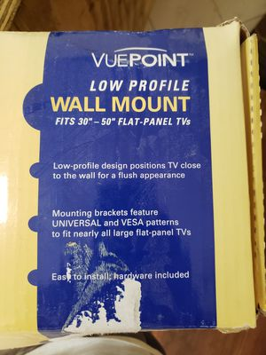 TV wall mount, 30-50inch 130lb weight limit for Sale in Miami, FL