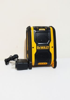 New Dewalt Bluetooth Speaker Dewalt 20v -12 V FIRM PRICE for Sale in Woodbridge, VA
