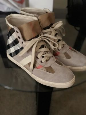 Burberry hightop shoes for Sale in Las Vegas, NV