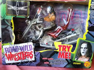 WCW Sting Road Wild vintage 1999 figures for Sale in Abilene, TX