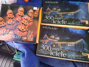 3 new boxes halloween lights for Sale in IL, US