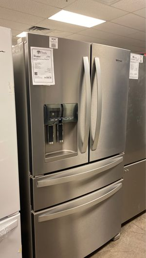 New Whirlpool French Door Refrigerator w/ Extra Fridge Drawer for Sale in Gilbert, AZ