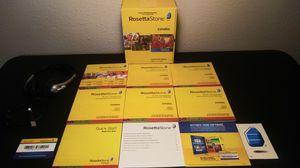 Rosetta Stone Spanish Total e Volume 1-5 for Sale in Houston, TX