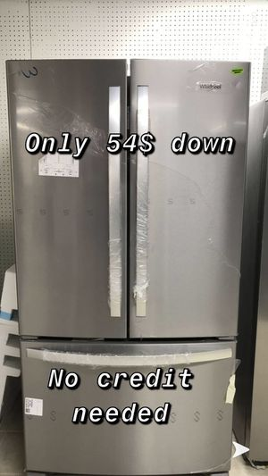 Brand new Whirlpool stainless steel refrigerator for Sale in Houston, TX