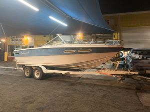 20ft boat and trailer for Sale in Mesa, AZ