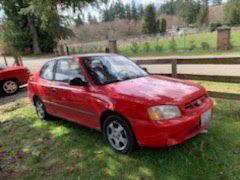 2002 Hyundai Accent for Sale in Everett, WA