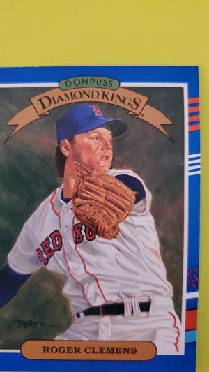 Roger Clemens Baseball Card 1990 for Sale in Alexandria, VA