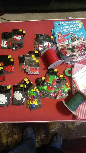 Christmas Arts& Craft Supplies- overloaded for Sale in Charlotte, NC