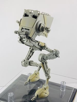 Hasbro Star Wars Black Series Imperial AT-ST Walker and Driver Good Condition for Sale in Los Angeles, CA