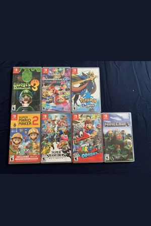NINTENDO SWITCH GAMES for Sale in Hygiene, CO