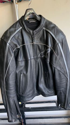 XL Alpinestars Leather motorcycle jacket with liner for Sale in San Antonio, TX