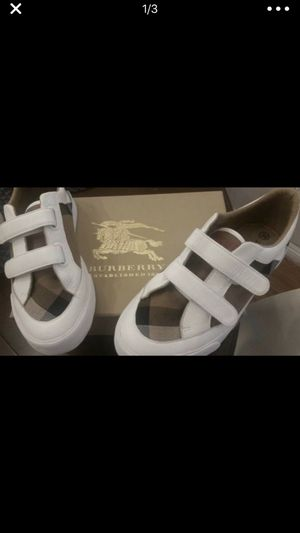 Authentic Burberry youth size shoes for Sale in Bakersfield, CA
