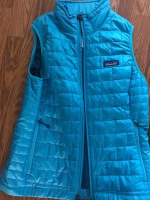 Patagonia women nano puff vest $80 dollars for Sale in Braintree, MA