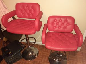 Set of adjustable Bar Stools for Sale in South Houston, TX