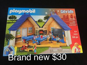 Brand new Playmobil School house for Sale in Clarence, NY