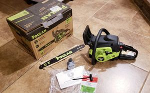 "16"" Poulan chainsaw for Sale in Cathedral City, CA"