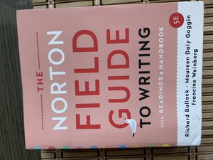 The Norton Field Guide to writing for Sale in Lincoln, NE