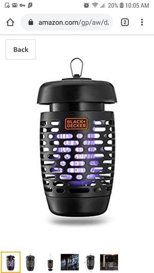 Black & Decker Bug Zapper for Sale in Queens, NY