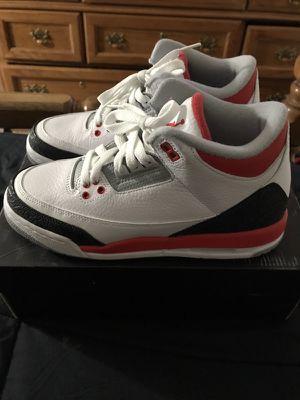 Jordan Fire Red 3's size 6y for Sale in Las Vegas, NV
