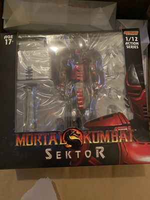 IN HAND! Storm Collectibles Sektor Mortal Kombat 1:12 Scale Action Figure NEW for Sale in Orlando, FL