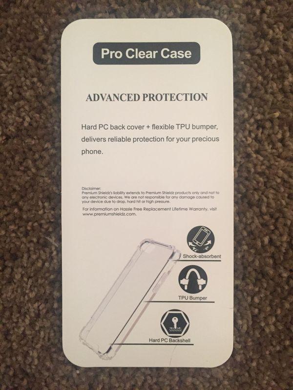 Clear cellphone case for iPhone 6plus, 7plus, 8Plus
