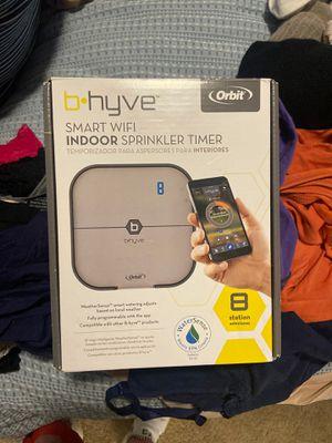 B.hyve smart wifi indoor sprinkler timer for Sale in Cedar Park, TX