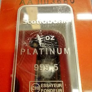Platinum 1 0z, Ingot for Sale in New Britain, CT