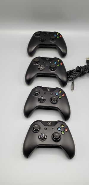 4x Xbox One Wireless Controllers [X-BOX ONE][Excellent Condition] for Sale in New York, NY