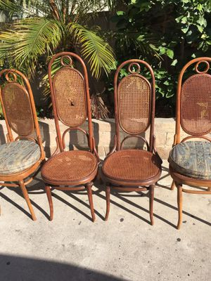 Michael thonet Josef Hoffman no 17 chairs for Sale in Los Angeles, CA
