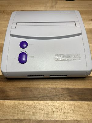 Super Nintendo SNES model 2 RGB and S-Video modded + recapped + more for Sale in Hutto, TX