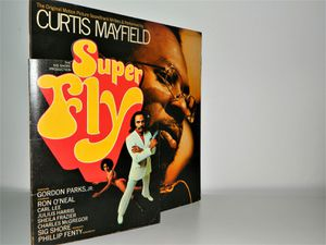 SUPER FLY Album Cover And Sleeve Soul Music Memorabilia 1972 Curtis Mayfield for Sale in Ashland, VA