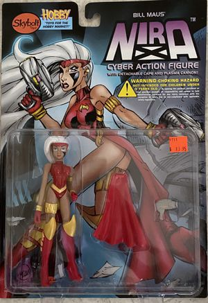 Nira X Cyber Action Figure NEW MOC 1997 Skybolt Toys for Sale in Santa Ana, CA