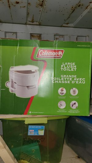 Coleman Portable flush toilet for Sale in Cicero, IL