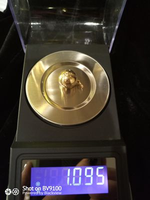 14k bass ball charm for Sale in Campo, CA